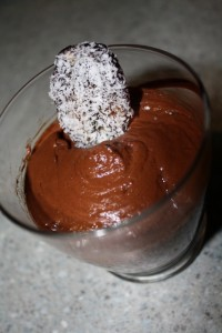 raw cacao mousse