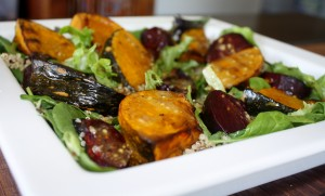 Roast Pumpkin and Beet Salad
